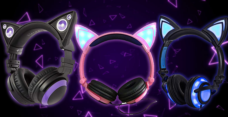 8 Best Cat Ear Headphones Review 2019