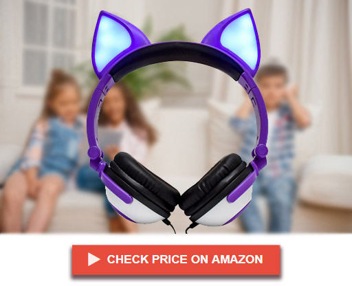 LIMSON Over Ear Cat Ear Headphones