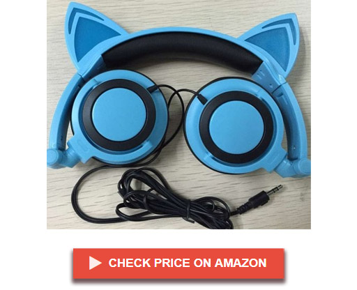Limson MP3 LX-R107 Cat Ear Headphones