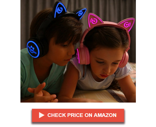 MindKoo UniCat MH-6 Wireless Cat Ear Headphones